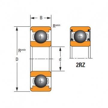 Timken Original and high quality  6217-2RZ Standard 6000 Series Deep Groove Ball Bearing