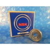 NSK 606ZZ, 606 ZZ Single Row Radial Bearing; 6 mm ID x 17 mm OD x 6 mm Country of origin Japan Wide